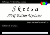 Sketsa SVG Editor updater splash