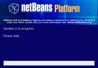 Netbeans Platform updater splash