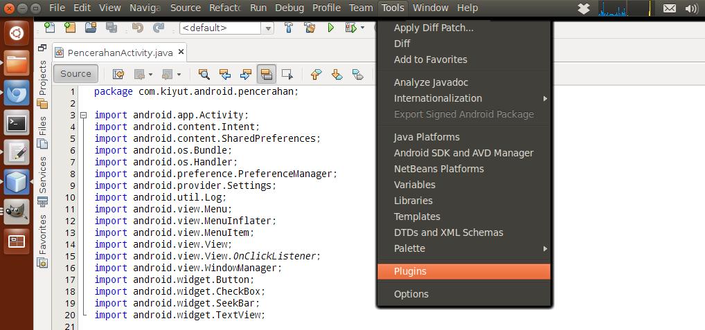 Setting subversion di ubuntu dengan netbeans